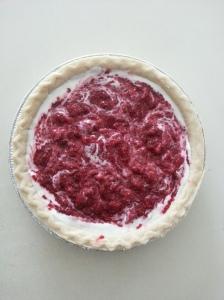 Raspberry Chia Jam Pie